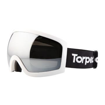 Torpedo7 Carve Adults Snow Goggles - White