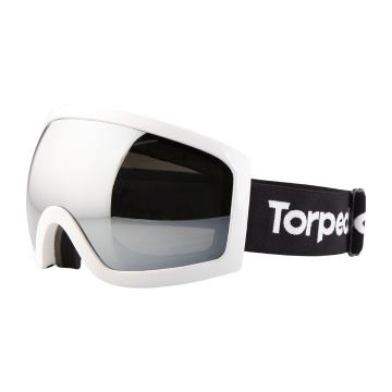 Torpedo7 Adults Carve Snow Goggles - White