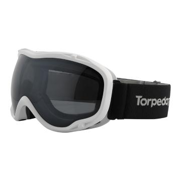 Torpedo7 Women's Comet Snow Goggles - White/Black