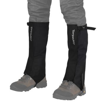 Torpedo7 Pinnacles Hiking Gaiters - Black/Grey