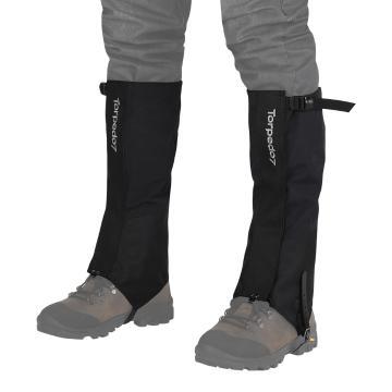 Torpedo7 Pinnacles Hiking Gaiters - Black/Grey