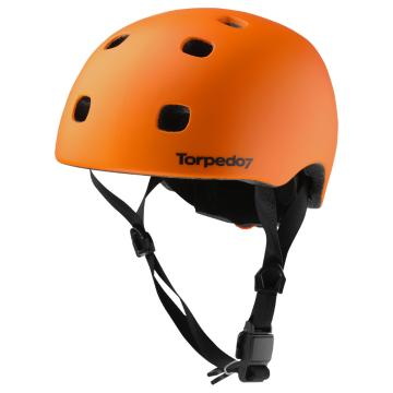 Torpedo7 Youth Raider II Helmet - Orange