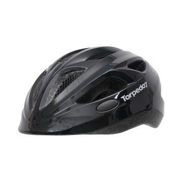 Torpedo7 BI16 Kids Bike Helmet - Black 46-51cm - Black