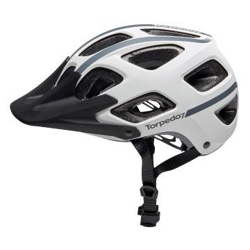 Torpedo7 Junior Vapour MTB Enduro Helmet - White
