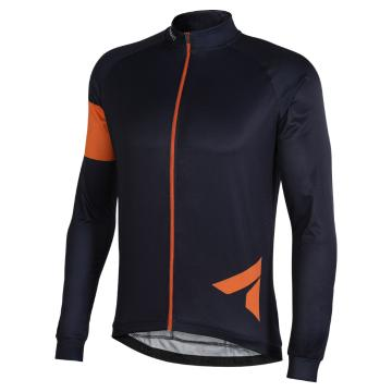 Men's Block Long Sleeve Road Cycle Jersey