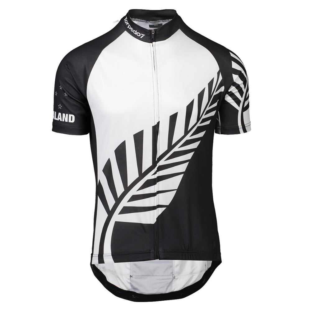 Men's NZ Koru Road Short Sleeve Jersey