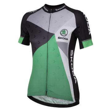 Torpedo7 Skoda Women's Team Jersey - Black/Green/Silver