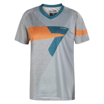 Torpedo7 Women's Sonic MTB Short Sleeve Jersey - Platinum/Grey
