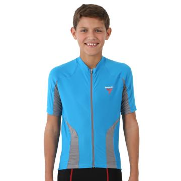 Torpedo7 Boy's Beacon Short Sleeve Cycle Jersey