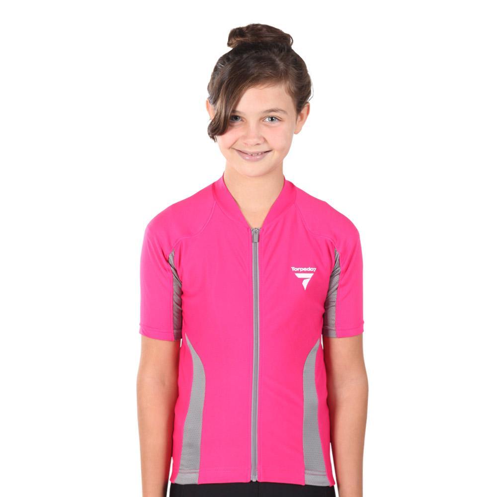 Girl's Beacon Short Sleeve Cycle Jersey