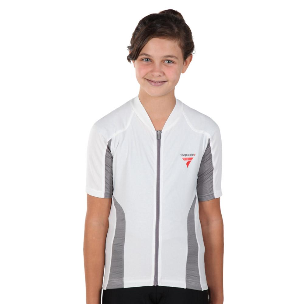 Girl's Beacon Short Sleeve Cycle Jersey