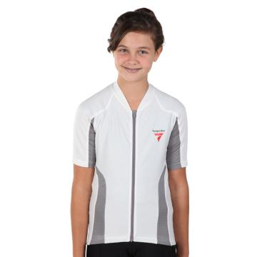 Torpedo7 Girl's Beacon Short Sleeve Cycle Jersey