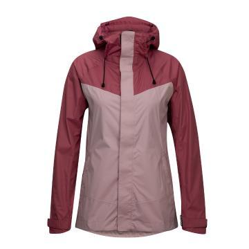Torpedo7 Women's Isobar Rain Jacket  - Mesa Rose