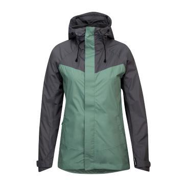 Torpedo7 Women's Isobar Rain Jacket - Moss
