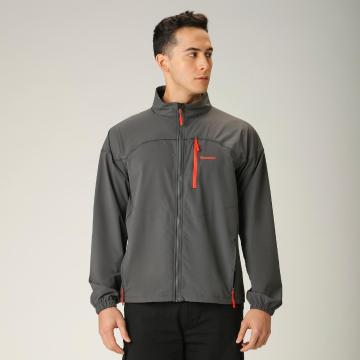 Torpedo7 Men's Maverick Soft Shell - Grey/Orange