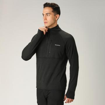 Torpedo7 Men's Pinnacle Grid Fleece - Black
