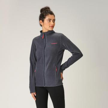 Torpedo7 Women's Union Zip Through Fleece - Steel Blue