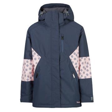 Torpedo7 Youth Girls' Snow Drift Jacket - Navy