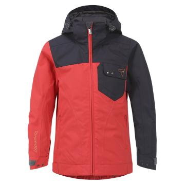 Torpedo7 Girl's Spin Snow Jacket - 4-10 Years - Watermelon/Indigo