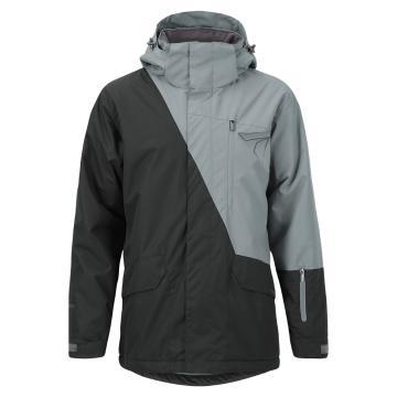 Torpedo7 Men's Split Snow Jacket - Asphalt/Grey