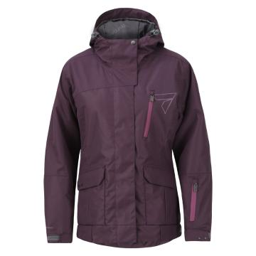 Torpedo7 Women's Split Snow Jacket - Grape