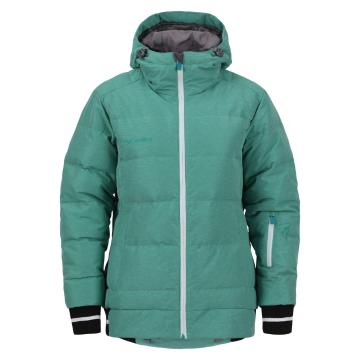 Torpedo7 Women's Cruise Puffer Down Snow Jacket - Mint