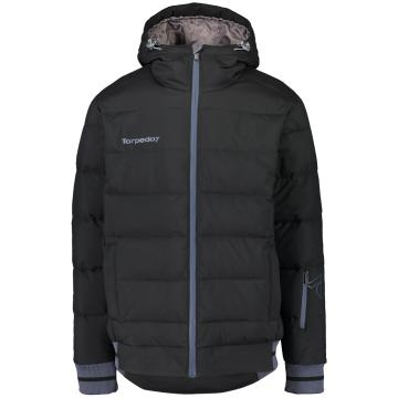 Torpedo7 2019 Men's Cruise Puffer Jacket - Black