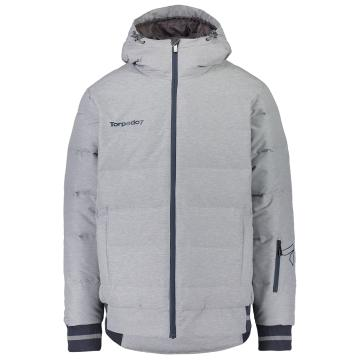 Torpedo7 2019 Men's Cruise Puffer Jacket - Grey