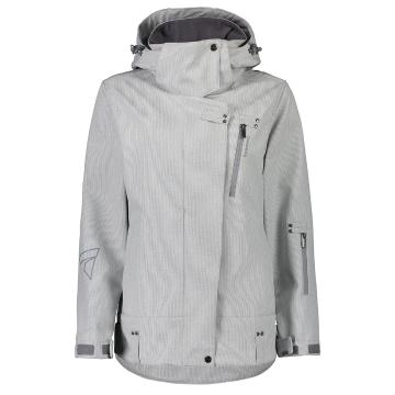 Torpedo7 2019 Women's Drift Softshell Jacket - Grey