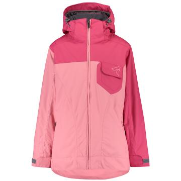 Torpedo7 2019 Youth Girl's Flux Jacket - Pink/Sorbet