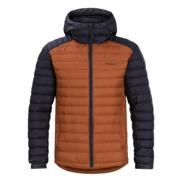 Torpedo7 Men's Resolve V3 Down Jacket - Burnt Orange/Indigo
