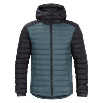 Torpedo7 Men's Resolve V3 Down Jacket - Sage Blue/Charcoal