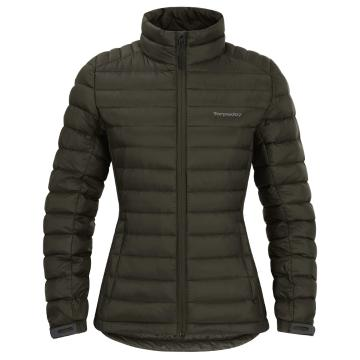 Torpedo7 Women's Belay V3 Down Jacket - Olive