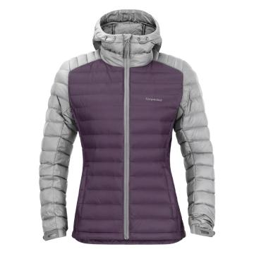 Torpedo7 Women's Resolve V3 Down Jacket - Grape/Grey