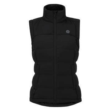 Torpedo7 Women's Onyx Down Vest - Black