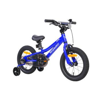 "Torpedo7 Spin 14"" Bike - Blue/Grey"