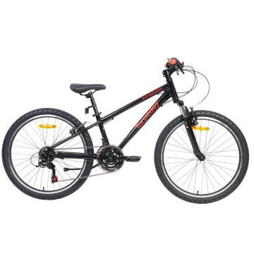 "Torpedo7 Synchro 24"" Bike - Black/Red"