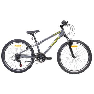 "Torpedo7 Synchro 24"" Bike - Grey/Yellow"
