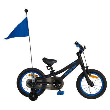 "Torpedo7 Boy's Spin 14"" Bike - Black/Blue"