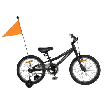 "Torpedo7 Boy's Slipstream 18"" Bike - Black/Grey"