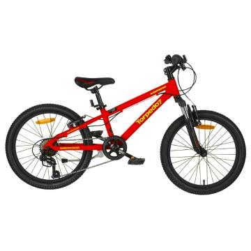 "Torpedo7 Viper V2 Bike 20"" Bike - Red/Acid Green"