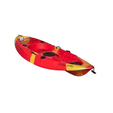 Torpedo7 2021 Cruise Single Kayak 2.7m - Fire
