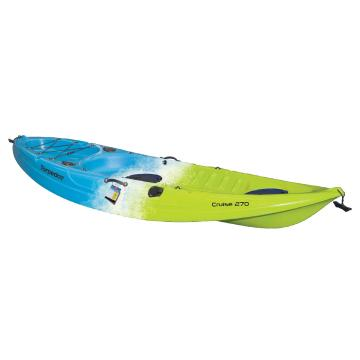 Torpedo7 Cruise 2.7M Single Kayak  - Green/White