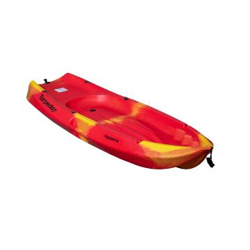 Torpedo7 2021 Nippers Kids Kayak & Paddle 1.83m - Fire
