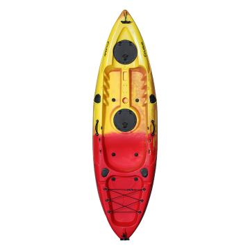 Torpedo7 Cruise Single Kayak 2.7m - Red/Yellow