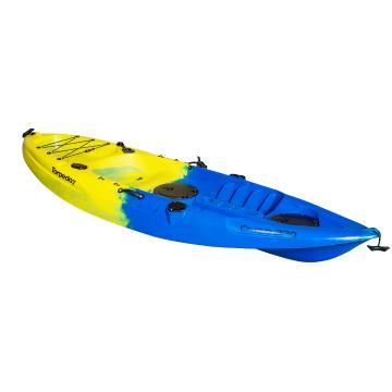 Torpedo7 Cruise Single Kayak - Blue/Yellow