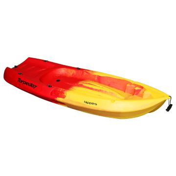 Torpedo7 Nippers 1.83m Kid's Kayak and Paddle - Red/Yellow