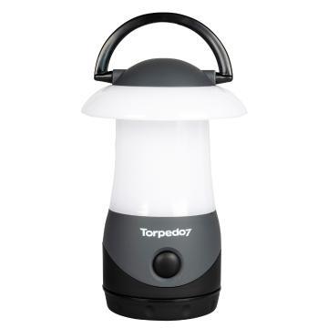 Torpedo7 LED Camping Lantern - Grey/Black