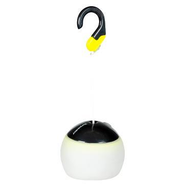 Torpedo7 USB Rechargable LED Tent Light - White/Grey