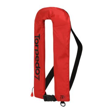 Torpedo7 Auto Inflatable Life Jacket - Red